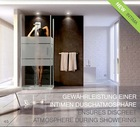 NANO GLASS Bathroom Tempered Bath Shower Screen LD003