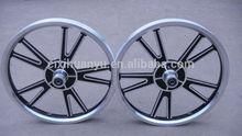 16-inch integrated aluminum alloy wheel -V-type wheel-- BMX bike alloy wheel