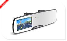 Rilevazione di movimento visione notturna 1080p 4,3 pollici specchi decorativi retrovisori per auto