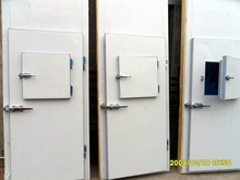 Frozen Food Fish Vegetables Cold Storage Room For Seafood Meat, Cold Room Door