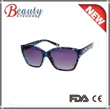 blue and colorful lastest design fashion sunglass summer uv400 protection sun glass