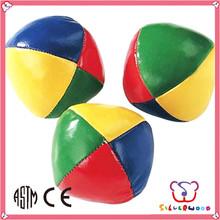 GSV certification new design and nice vinyl stuffed juggling balls