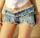 women tight jeans shorts
