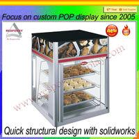 Custom Elegant Acrylic Products,Acrylic Food fried chicken Display Cases