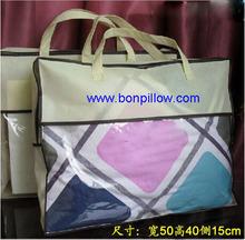 2014 New model No- woven fabric Plastic pillow bag transparent