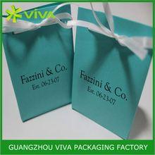 Luxury and elegant garment tropical gift bags