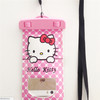 2014 high quality clear mobile phone cartoon waterproof bag