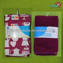 microfiber customized printed branded tea towel 30*30