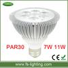 Focus Lighting high power led 7w par 30