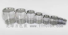 plastic candy packaging box small plastic cylinder containers
