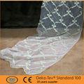 2015 clásico patrón de la flor china bordado de tela de la cortina