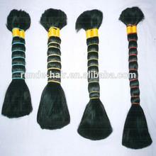 Hair bulk high quality 100% Unprocessed synthetic hair bulk