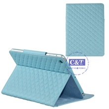 Professional beauty case for ipad mini crystal cover