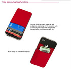 FACTORY SUPPLY ADHESIVE SMART PHONE POCKET POUCH CARD ID HOLDER MONEY CLIP