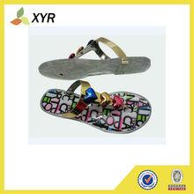 cheap EVA sole PVC women jelly shoe sandal