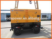 Trailer and Slient diesel generators