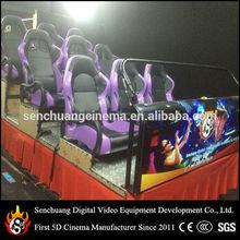 Hydraulic platform 7D cinema chair for 7D cinema equipment