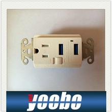 etl american usb wall socket