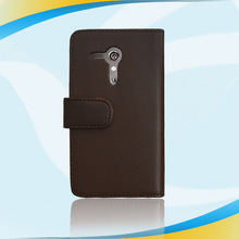 2014 new arrival pu leather material for moto g case