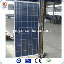 150w poly solar panel/ led panel light led / price per watt solar panels