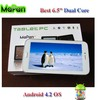 6.5 inch android 4.2 gsm mobile phone, cheap smartphone with wifi gsm, MaPan mini smartphone