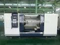 Ckg1327b-1 gran eje de diámetro de la tubería de perforación de la máquina hilo pulgadas 10 chuck torno cnc