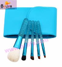 Beifa crystal makeup brushes animal hair goat hair crystal handle factory china