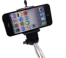 For iPhone 4S/5/5S/5C Extender Phone Camera Monopod Handheld Holder Self Travel