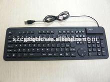 waterproof Fashion Silicone Flexible Keyboard, Standard 109 Keys