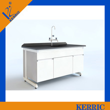 laboratory stainless steel cabinet with sink