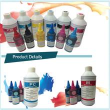 CYMK color sublimation inks for inkjet printers