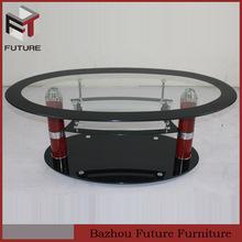 costco oval glass coffee table design