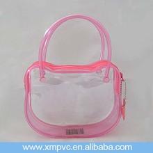 Travel Cat Shape Handle PVC Make Up Bag XYL-D-C748