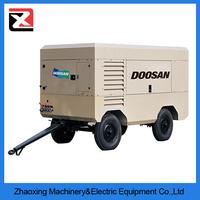 High Pressure Air Compressor for Water Well Drilling Rigs/Cummins Portable High Pressure Air Compressor