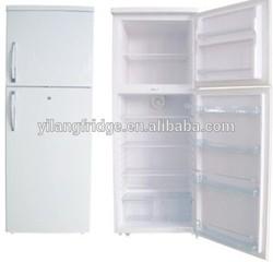 BCD-550 High Efficient AC 220 Volt Double-doors Fridge Kitchen Equipment Upright Fridge with Cheap Price