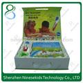 Childrens brinquedoseducativos magnética brinquedos pré-escolares multi- função de crianças livro de som& leitura caneta