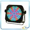 moving led par Battery led flat par wirelss with 144 pcs RGBA LED flat light