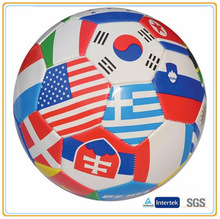 32panels with coutries flags world cup promotion soccer ball