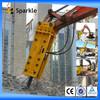 gas powered jack hammer /hydraulic rock breaker /jack hammer for excavator