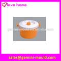 plástico de vapor microondas utensilios de cocina