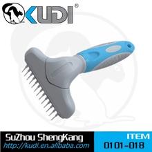 Pet Rake Comb/dog grooming tools/pet pin brush 0101-018