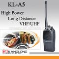 أسود vhf معدات الاتصالات/ اختياري intercome uhf اسلكية تخاطب