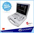 Dw-c60 4d portátil de color del escáner de ultrasonido