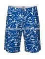 impreso de algodón casual en pantalones cortos pantalones cortos para hombre