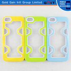Summer style pc+tpu bumper case cover for iPhone 4, for iPhone 4 bumper case