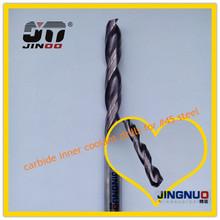 High precision 2 flute HRC45 tungsten solid carbide drill bit manufacturing process
