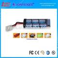 Ni-mh 2/3a 8.4v 1600 mah paquetes de baterías recargables