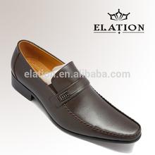 fashion design second leather men shoe