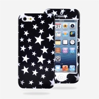 2014 hard full cover colored phone case for iphone5 in stock