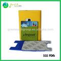 regalos promocionales 3m etiqueta de aluminio baratos tarjeta en la cartera